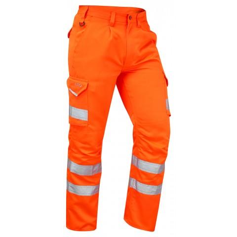 ISO 20471 Class 1 Cargo Trouser Orange Cargo Trousers