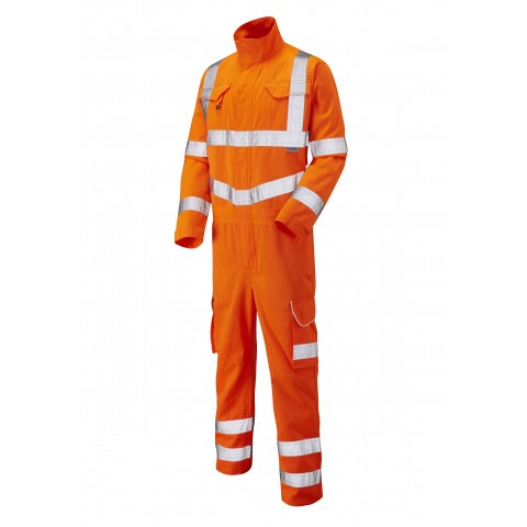 ISO 20471 Class 3 Poly/Cotton Coverall Orange