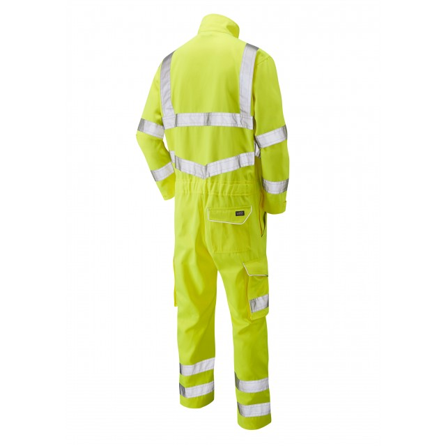 ISO 20471 Class 3 Poly/Cotton Coverall Yellow