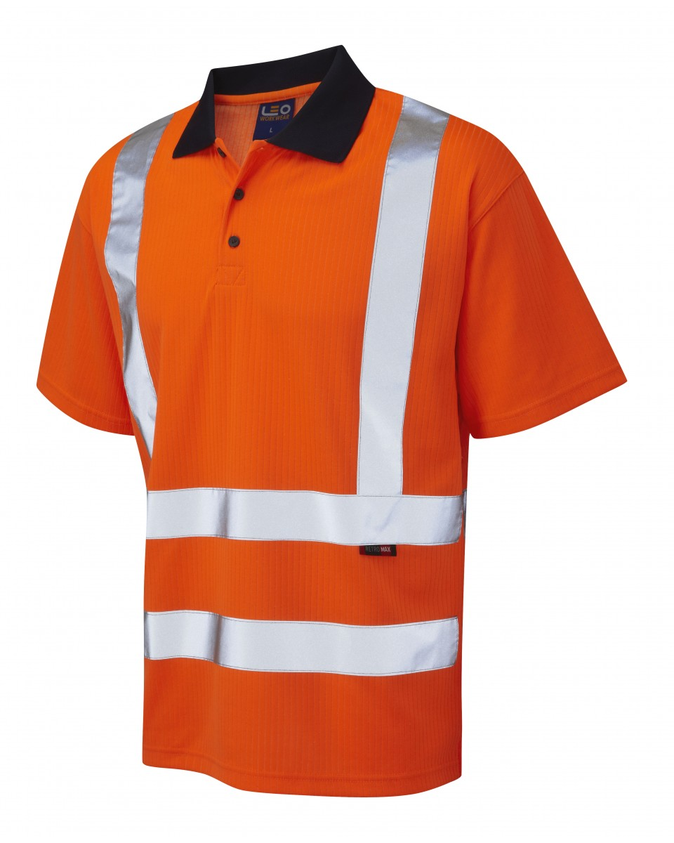 Class 2 Safety Polo Shirts Joe Maloy