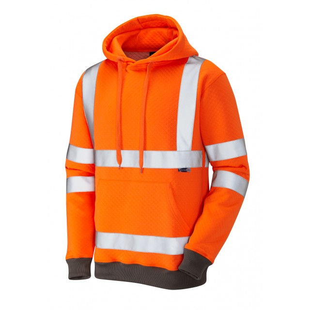 ISO 20471 Class 3 Hooded Sweatshirt Orange