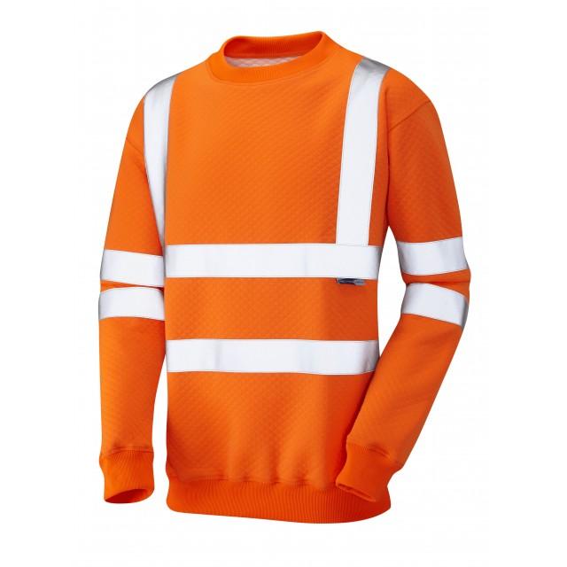 ISO 20471 Class 3 Crew NeckSweatshirt Orange