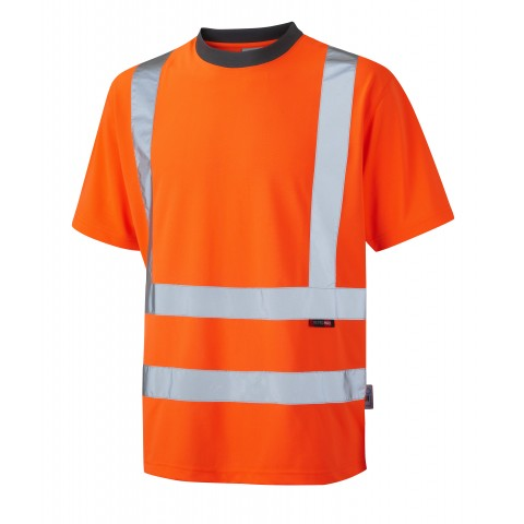 ISO 20471 Class 2 Coolviz T-Shirt Orange Coolviz Polos & T-Shirts