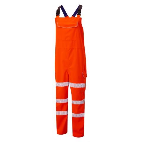 ISO 20471 Class 2 Bib & Brace Orange
