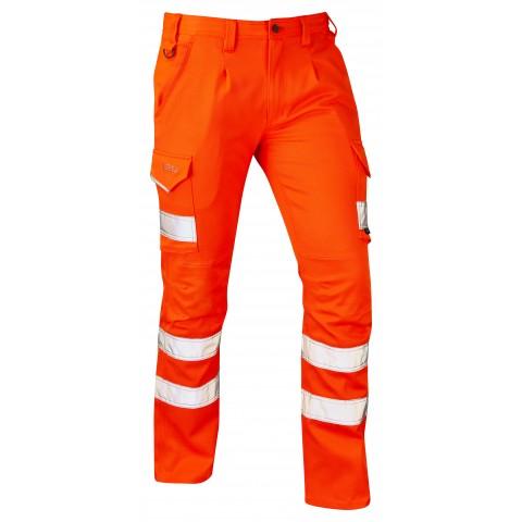 ISO 20471 Class 1 EcoViz® PCX Stretch Cargo Trouser Orange