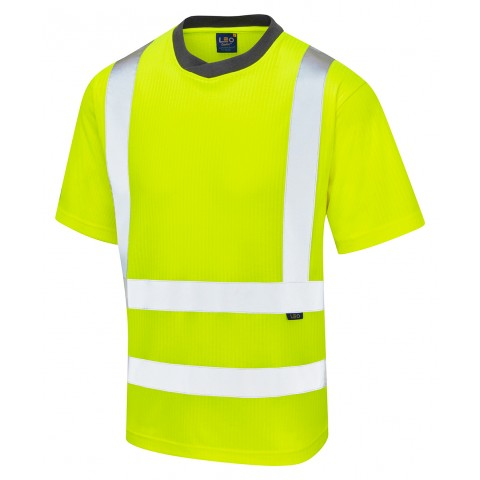 ISO 20471 Class 2 Comfort EcoViz®PB T-Shirt Yellow Vests, Polos & T-Shirts