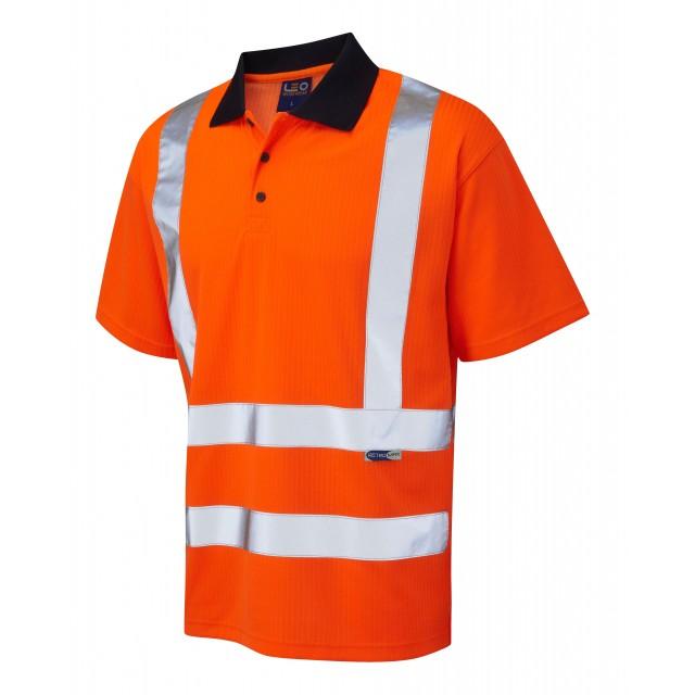 ISO 20471 Class 2 Comfort Polo Shirt Comfort Vests, Polos & T-Shirts