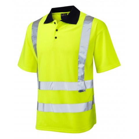 CROYDE - ISO 20471 Class 2 Comfort Polo Shirt Comfort Vests, Polos & T-Shirts