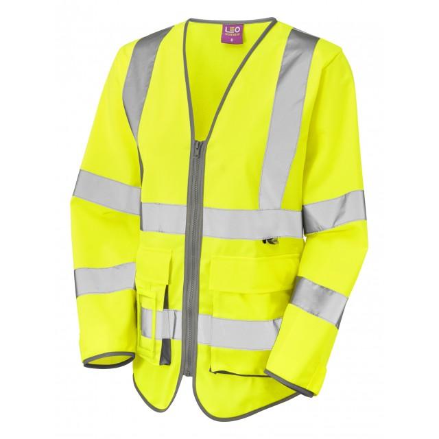 ISO 20471 Class 2 Women's Sleeved Superior Waistcoat Superior Waistcoats