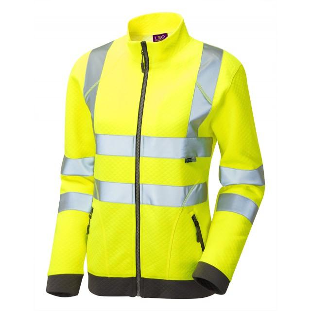 ISO 20471 Class 2 Women's Zipped Sweatshirt
