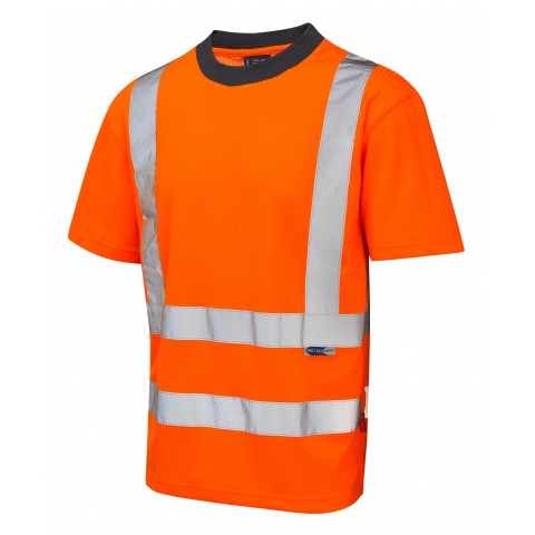 ISO 20471 Class 2 Comfort T-Shirt Orange Comfort Vests, Polos & T-Shirts