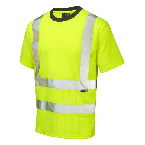 ISO 20471 Class 2 Comfort T-Shirt Yellow Comfort Vests, Polos & T-Shirts