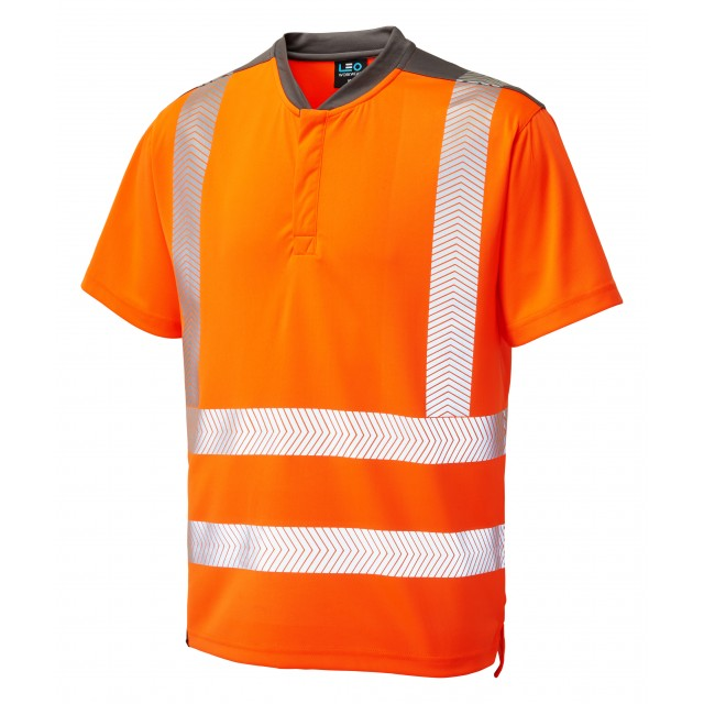 ISO 20471 Class 2 Performance T-Shirt Orange