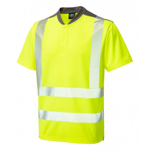 ISO 20471 Class 2 Performance T-Shirt Yellow