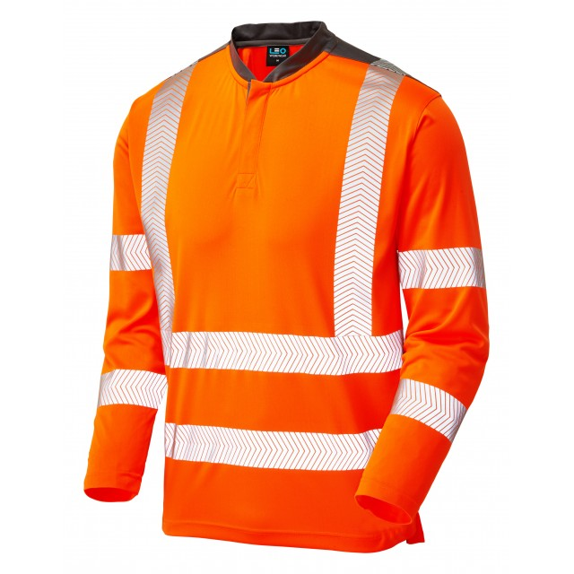 ISO 20471 Class 3 Performance Sleeved T-Shirt Orange