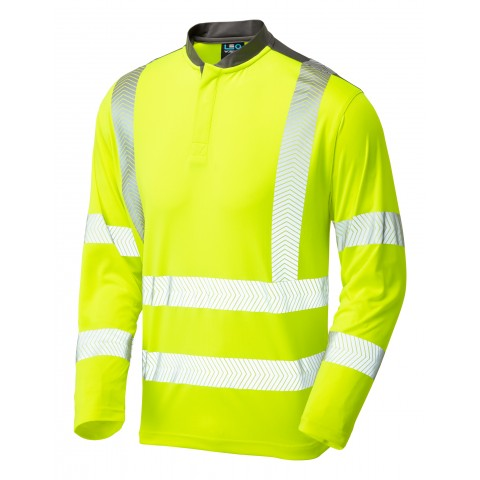 ISO 20471 Class 3 Performance Sleeved T-Shirt Yellow