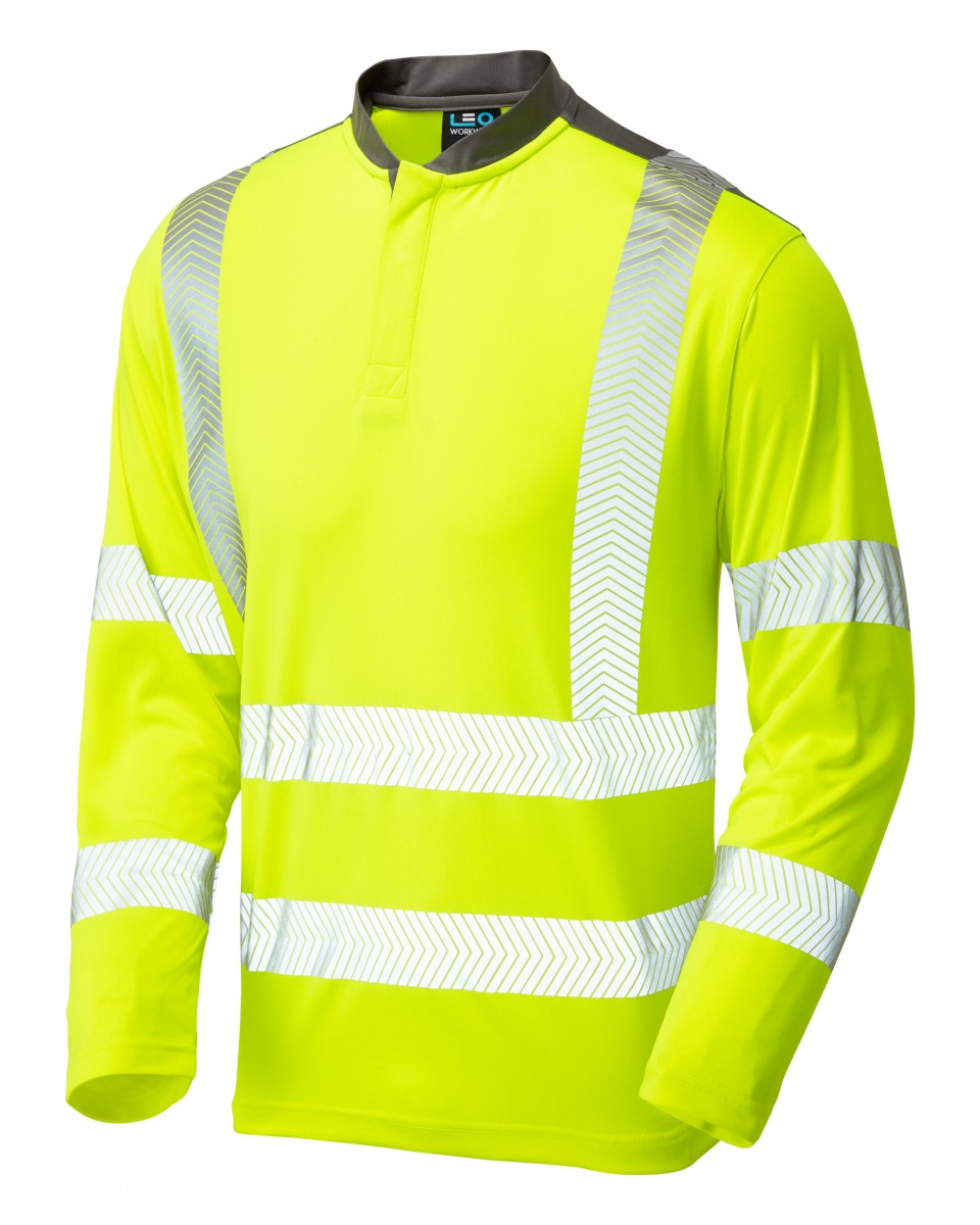 9a836d5f46627 ISO 20471 Class 3 Performance Sleeved T-Shirt Yellow T13-Y