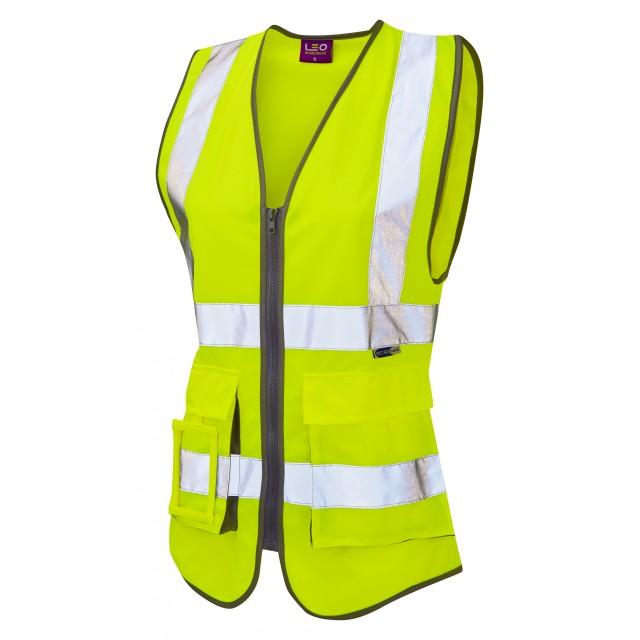 ISO 20471 Class 1 Women's Superior Waistcoat Superior Waistcoats