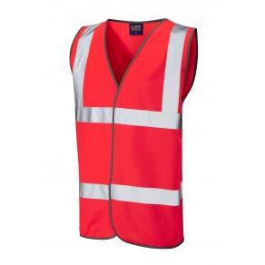 ISO 20471 Class 2 Waistcoat Red