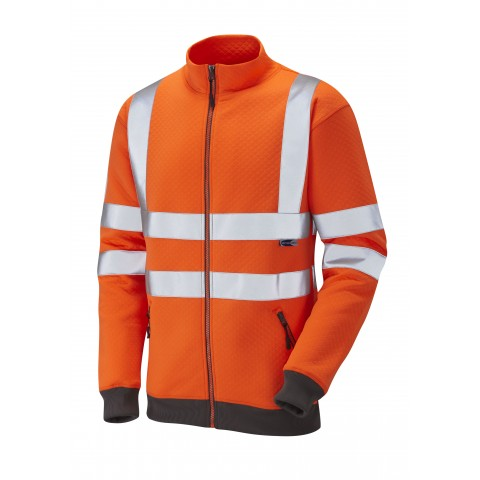 ISO 20471 Class 3 Track Top Orange Sweatshirts
