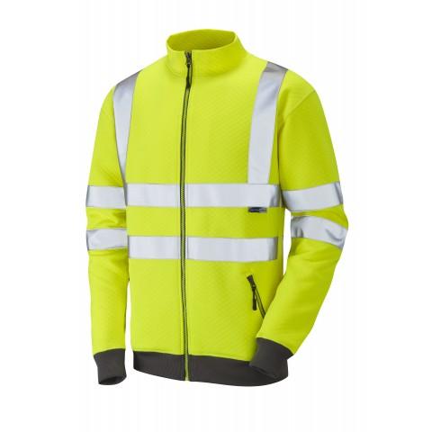 ISO 20471 Class 3 Track Top Yellow Sweatshirts