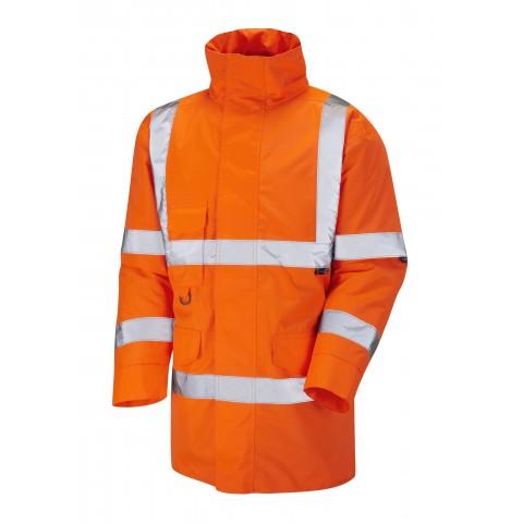 ISO 20471 Class 3 Anorak Orange Anoraks