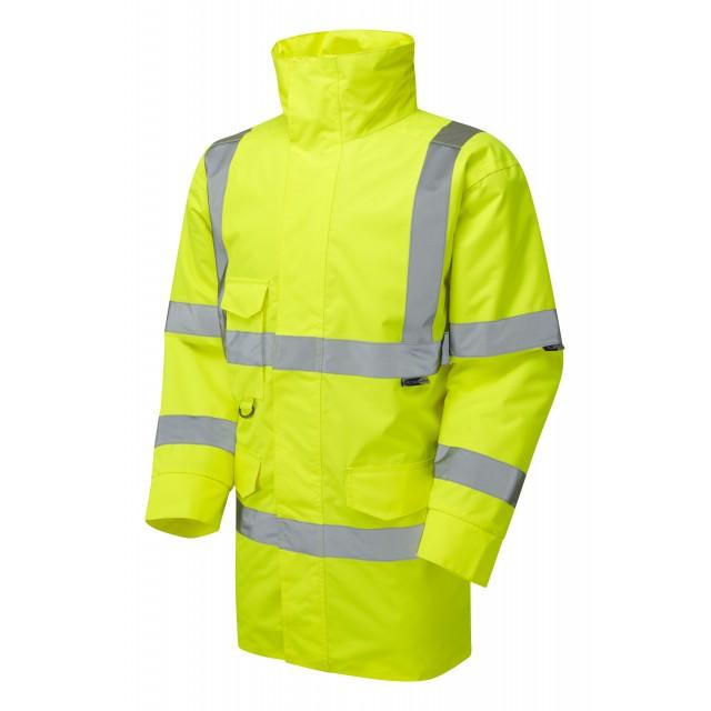 ISO 20471 Class 3 Anorak Yellow Anoraks