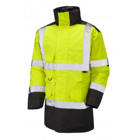 ISO 20471 Class 3 Anorak Yellow/Black Anoraks