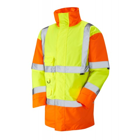 ISO 20471 Class 3 Anorak Yellow/Orange Anoraks