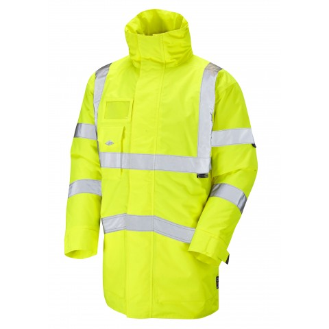 ISO 20471 Class 3 Superior Anorak Yellow Anoraks