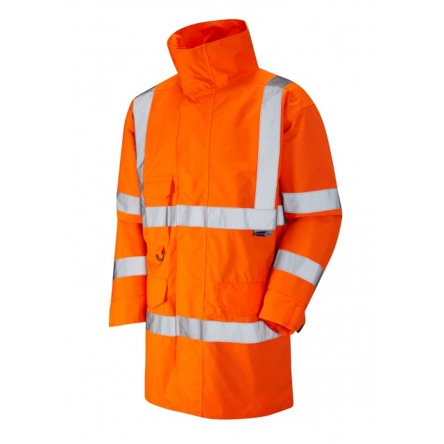ISO 20471 Class 3 Breathable Lightweight Anorak Orange Anoraks