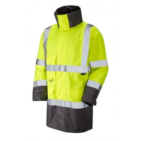 ISO 20471 Class 3 Breathable Lightweight Anorak Yellow Anoraks