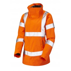 ISO 20471 Class 3* Women's Breathable Jacket Orange