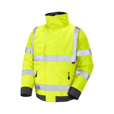 ISO 20471 Class 3 Bomber Jacket Yellow Bomber Jackets