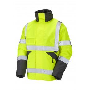 ISO 20471 Class 3 Superior Bomber Jacket Yellow