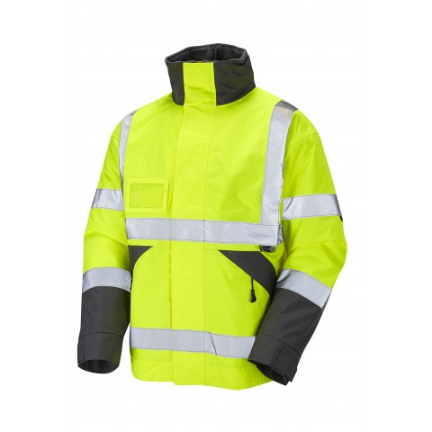 ISO 20471 Class 3 Superior Bomber Jacket Yellow Bomber Jackets