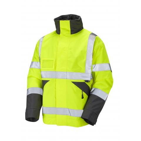 ISO 20471 Class 3 Superior Bomber Jacket Yellow Bomber Jackets