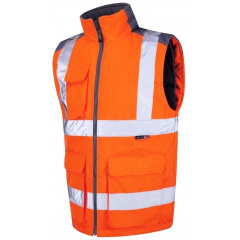 ISO 20471 Class 2 Bodywarmer Orange Bodywarmers