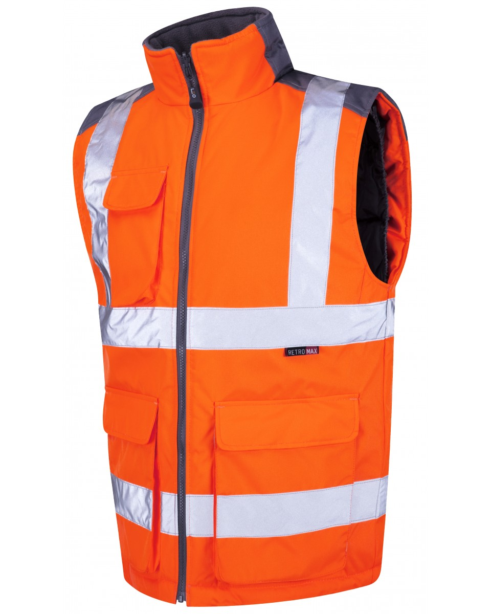 Iso 20471 Class 2 Bodywarmer Orange