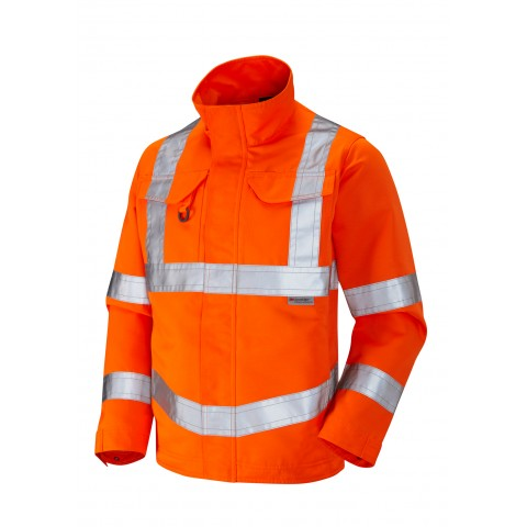 ISO 20471 Class 3 Drivers Jacket Orange Drivers Jackets
