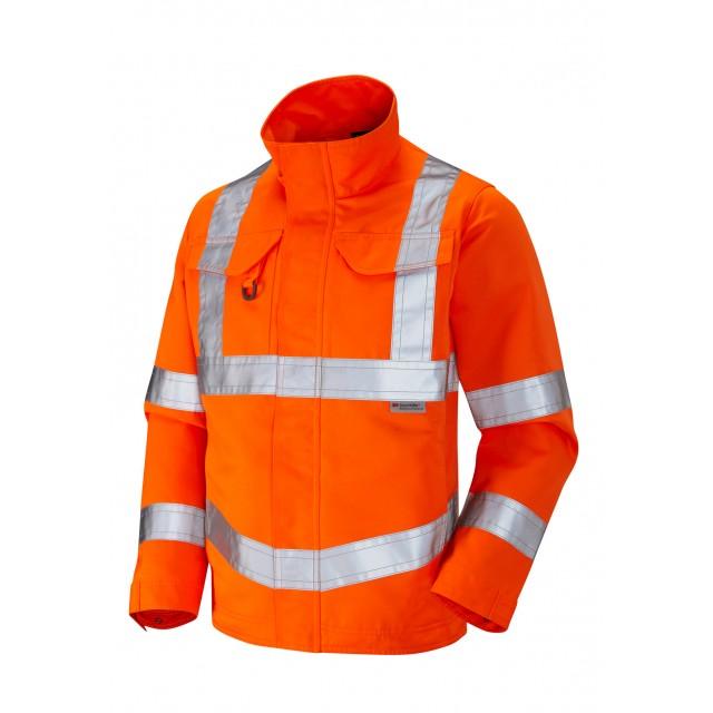 ISO 20471 Class 3 Drivers Jacket Orange Drivers Jackets