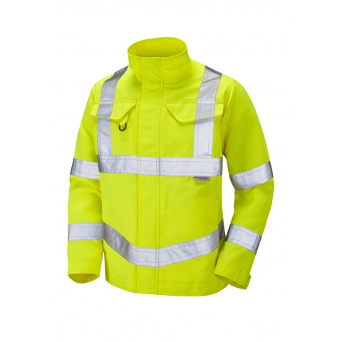 ISO 20471 Class 3 Drivers Jacket Yellow Drivers Jackets