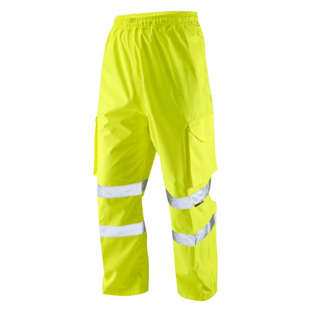 ISO 20471 Class 1 Cargo Overtrouser Yellow Overtrousers