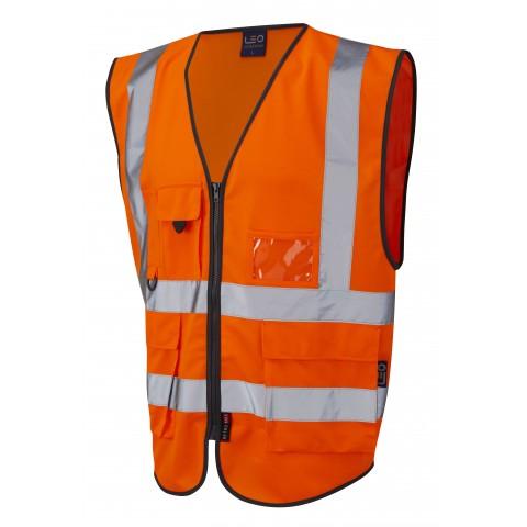 ISO 20471 Class 2 Superior Waistcoat Orange