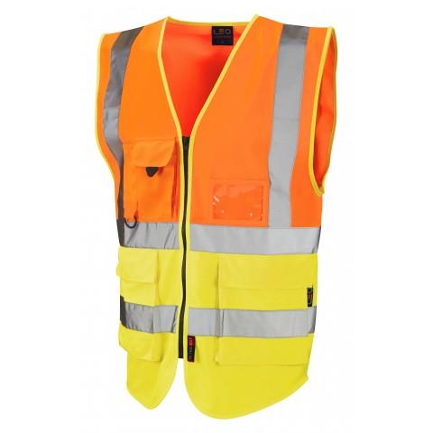 ISO 20471 Class 2 Superior Waistcoat Superior Waistcoats