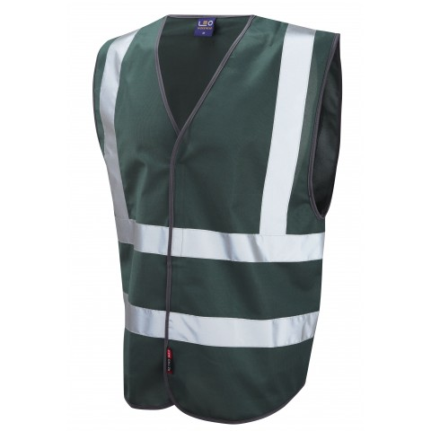 Single Colour Reflective Waistcoat (Non ISO 20471) Bottle Single Colour Waistcoats