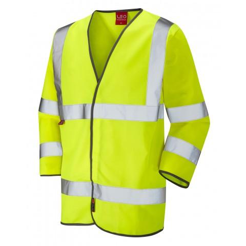 EN 471 Class 3 LFS 3/4 Sleeve Waistcoat Yellow EN 533 LFS Waistcoats