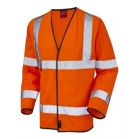 EN 471 Class 3 LFS Sleeved Waistcoat Orange EN 533 LFS Waistcoats