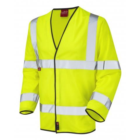 EN 471 Class 3 LFS Sleeved Waistcoat Yellow EN 533 LFS Waistcoats