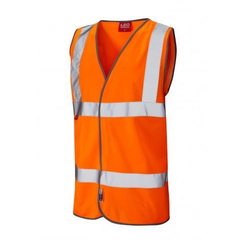 EN 471 Class 2 LFS Waistcoat Orange EN 533 LFS Waistcoats